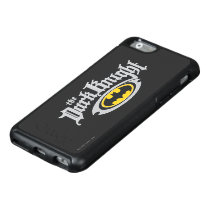 Batman Dark Knight | Name and Oval Logo OtterBox iPhone 6/6s Case