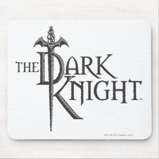 Batman Dark Knight | Name Brown Logo Mouse Pad