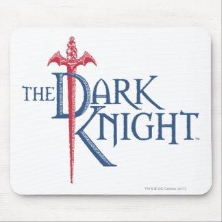 Batman Dark Knight | Name Red Sword Logo Mouse Pad