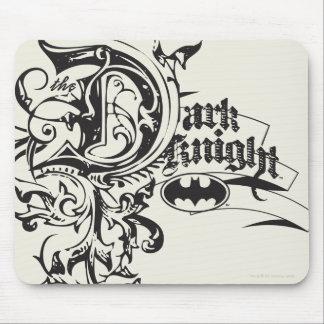 Batman Dark Knight   Ornate Logo Mouse Pad