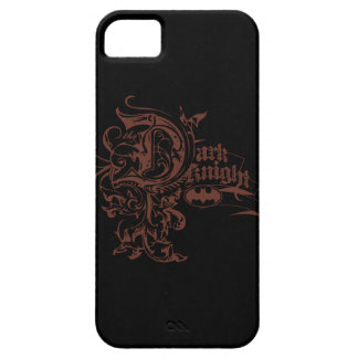 Batman Dark Knight | Urban Brown Logo iPhone SE/5/5s Case