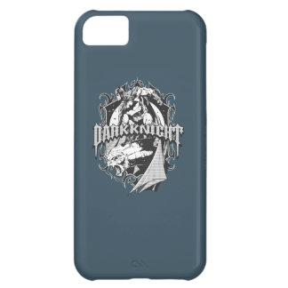 Batman Dark Knight | White Grey Outline Logo iPhone 5C Case
