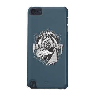 Batman Dark Knight | White Grey Outline Logo iPod Touch 5G Cover