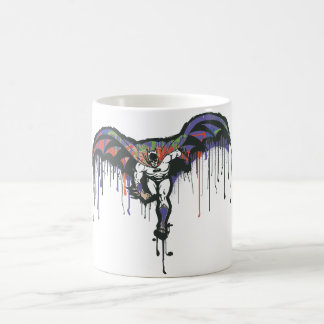Batman Dash Painted Classic White Coffee Mug