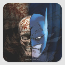batman, bat, man, dia, los, muertos, day, dead, monthly, trend, comics, decorated, skull, cowl, warner, brothers, Sticker with custom graphic design