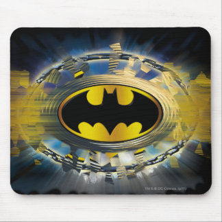 Batman Decorated Logo Mouse Pad
