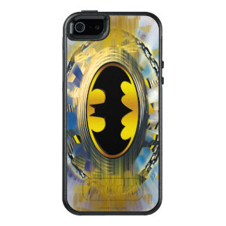 Batman Decorated Logo OtterBox iPhone 5/5s/SE Case