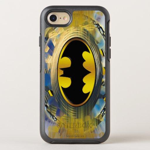 Batman Decorated Logo OtterBox Symmetry iPhone 8/7 Case