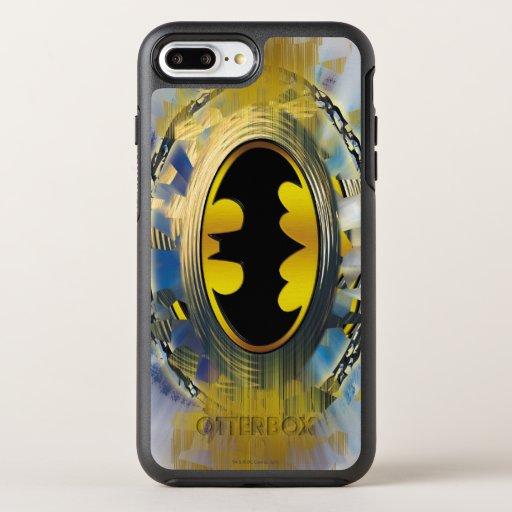 Batman Decorated Logo OtterBox Symmetry iPhone 8 Plus/7 Plus Case