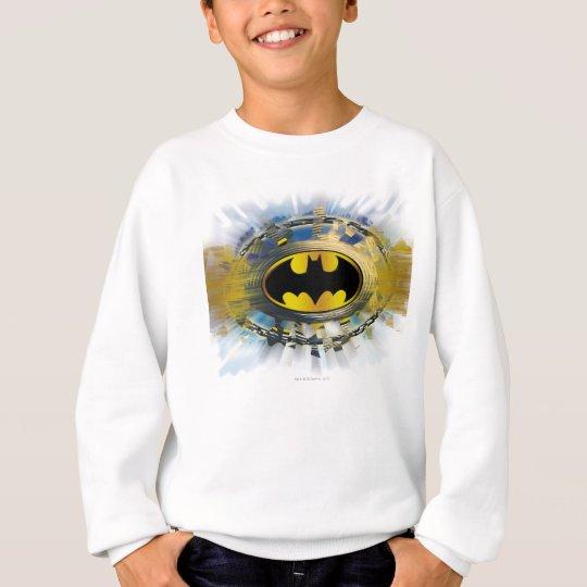 Batman Decorated Logo Sweatshirt