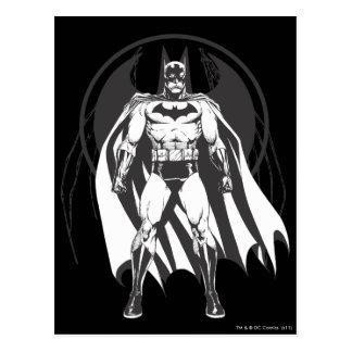 Batman del logotipo postal