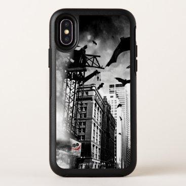 BATMAN Design OtterBox Symmetry iPhone X Case
