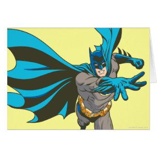 Batman distribuye tarjeta de felicitación