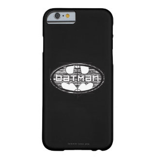 Batman   Draft Logo Barely There iPhone 6 Case