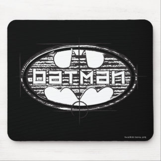 Batman | Draft Logo Mouse Pad