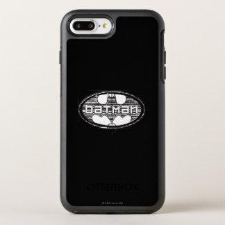 Batman   Draft Logo OtterBox Symmetry iPhone 8 Plus/7 Plus Case