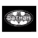 Batman Draft Logo Postcard