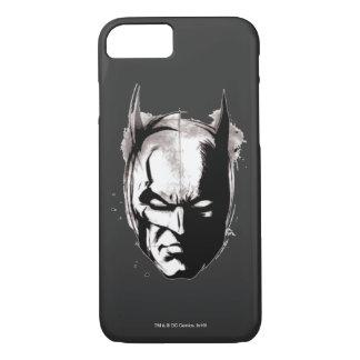 Batman Drawn Face iPhone 7 Case
