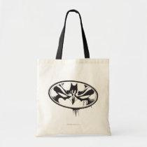 batman logo, dark night, bat man, Bag with custom graphic design