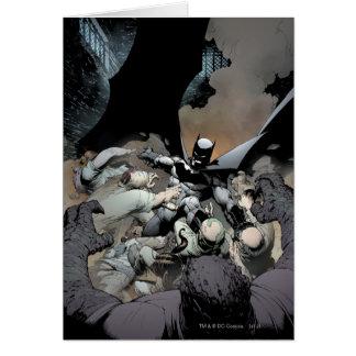 Batman Fighting Arch Enemies Card