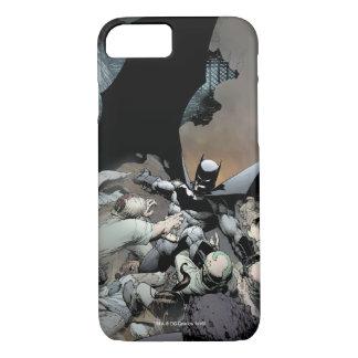 Batman Fighting Arch Enemies iPhone 8/7 Case
