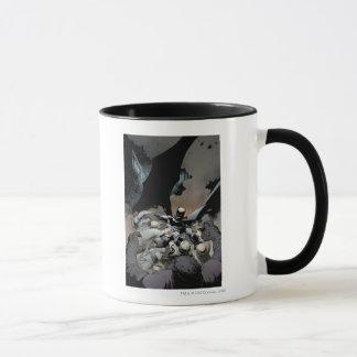 Batman Fighting Arch Enemies Mug