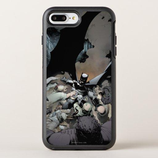Batman Fighting Arch Enemies OtterBox Symmetry iPhone 8 Plus/7 Plus Case