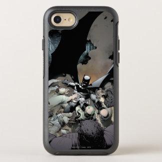 Batman Fighting Arch Enemies OtterBox Symmetry iPhone 8/7 Case