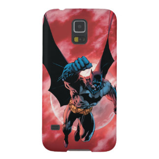 Batman Firey Sky Galaxy S5 Cover
