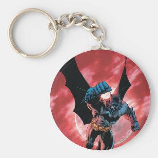Batman Firey Sky Keychain