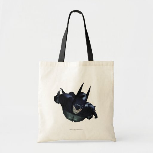 Batman Flying Budget Tote Bag