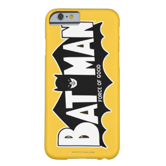 Batman   Force of Good 60s Logo Barely There iPhone 6 Case