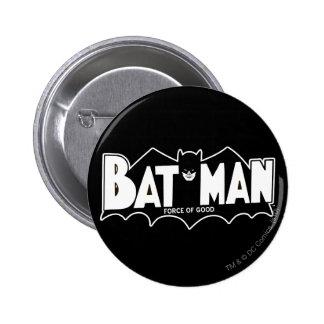 Batman | Force of Good 60s Logo Button