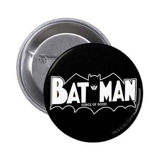 Batman - Force of Good 60s Logo Button
