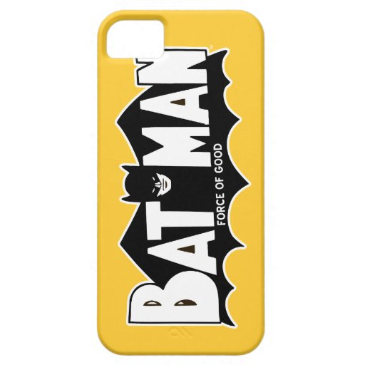 Batman - Force of Good 60s Logo iPhone 5 Case