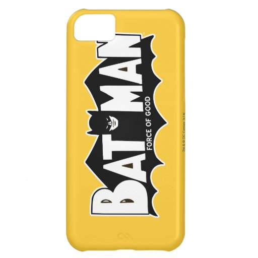 Batman - Force of Good 60s Logo iPhone 5C Cover