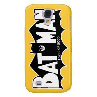 Batman   Force of Good 60s Logo Galaxy S4 Case