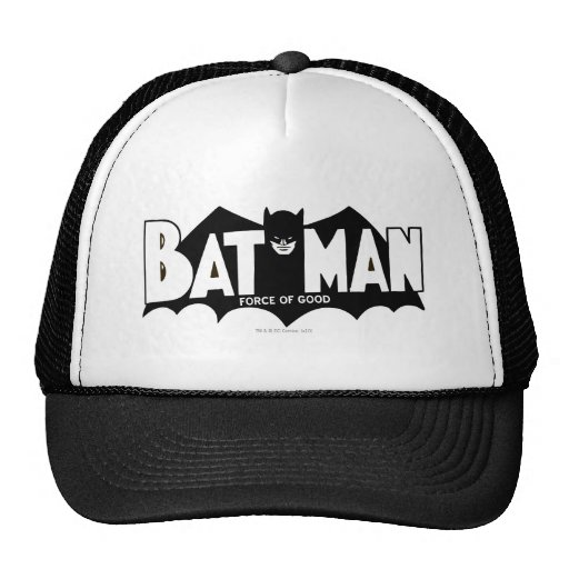 Batman - Force of Good 60s Logo Trucker Hats