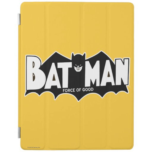 Batman - Force of Good 60s Logo iPad Cover