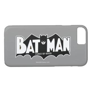 Batman   Force of Good 60s Logo iPhone 8/7 Case