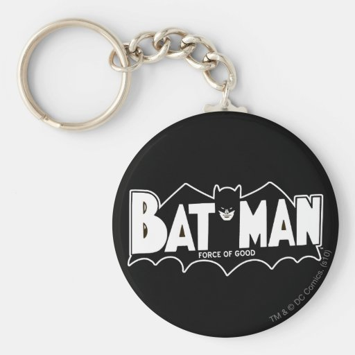 Batman - Force of Good 60s Logo Keychains