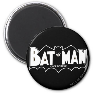 Batman - Force of Good 60s Logo 2 Inch Round Magnet