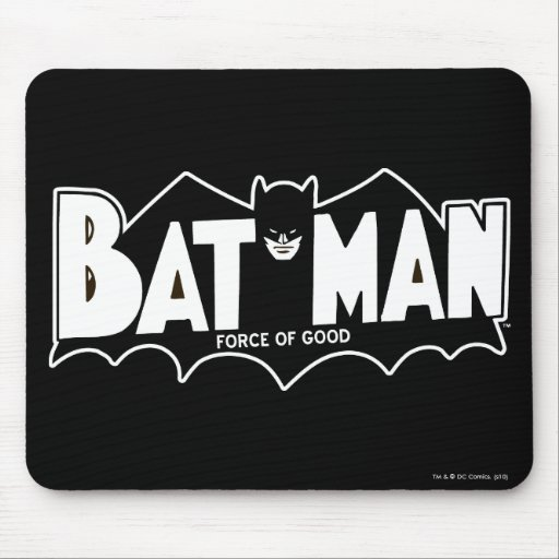 Batman - Force of Good 60s Logo Mousepad