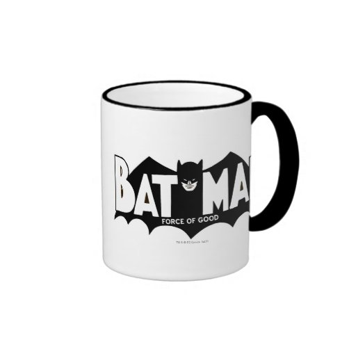 Batman - Force of Good 60s Logo Mugs