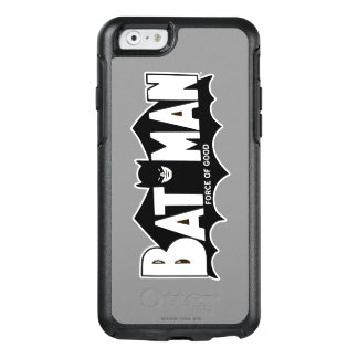 Batman   Force of Good 60s Logo OtterBox iPhone 6/6s Case