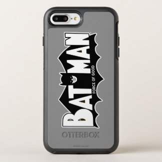 Batman | Force of Good 60s Logo OtterBox Symmetry iPhone 7 Plus Case