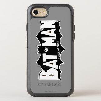 Batman   Force of Good 60s Logo OtterBox Symmetry iPhone 8/7 Case