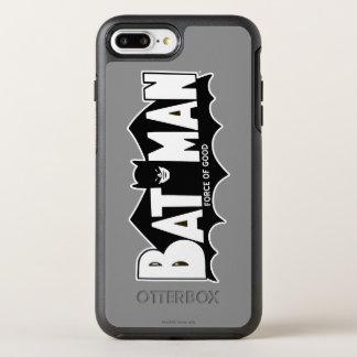 Batman   Force of Good 60s Logo OtterBox Symmetry iPhone 8 Plus/7 Plus Case