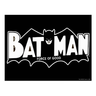 Batman - Force of Good 60s Logo Postcard