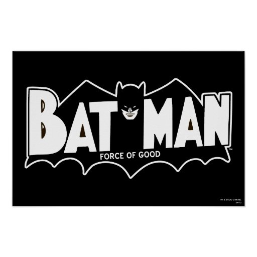 Batman - Force of Good 60s Logo Posters